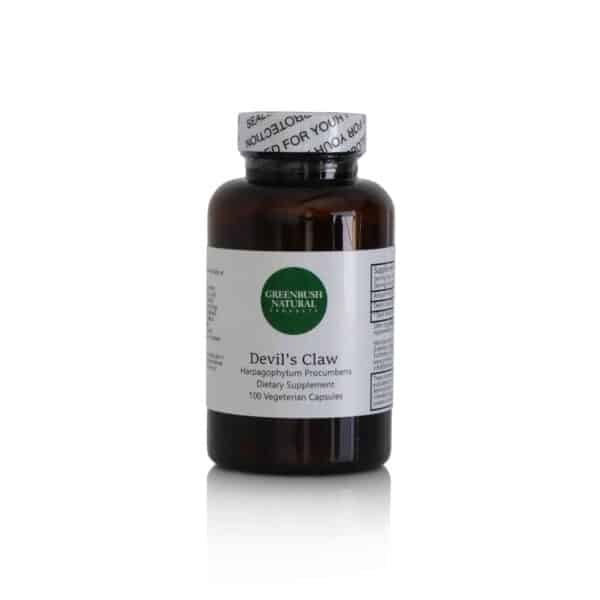Devil's Claw Vegetarian Capsules - Pain Management - 575mg per dose - 100 Count - Greenbush Natural Products